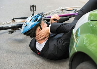 Pedestrian and Bicycle Accident